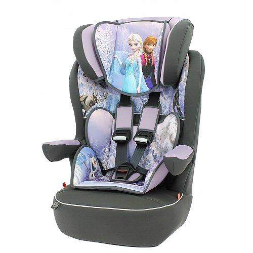 mycarsit Autositz Disney, Gruppe 1/2/3(von 9bis 36kg), Motiv Frozen Eiskönigin