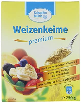 SchapfenMühle Weizenkeime premium, 10er Pack (10 x 250 g Packung) von SchapfenMühle auf Gewürze Shop