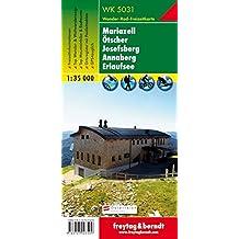 Freytag Berndt Wanderkarten, WK 5031 Mariazell - Ötscher - Josefsberg - Annaberg - Erlaufsee - Maßstab 1:35 000 (freytag & berndt Wander-Rad-Freizeitkarten)