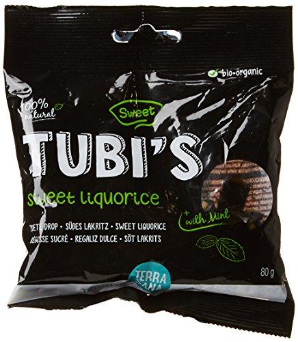 Terrasana Tubis Sachet de Réglisses Doux Bio 80 g