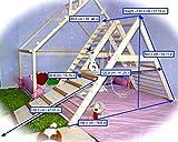 UGiBUGi Fitnessstudio für Kleinkinder, Triangel, Kletterleiter für Kleinkinder, Kletterdreieck für Kleinkinder, Dreieck mit Rampe, Kleinkindergymnastik