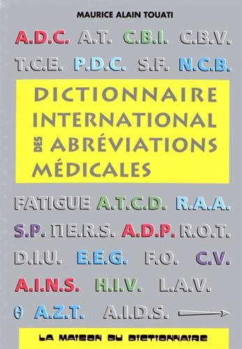 Dictionnaire international des abréviations médicales