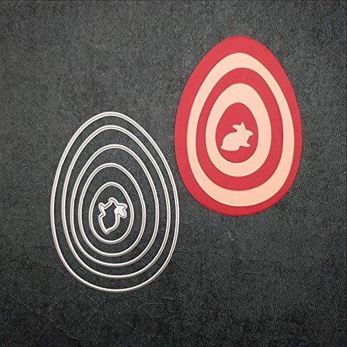FNKDOR Stanzschablone Scrapbooking Stanzmaschine Stempel Schablonen Stanzformen Prägeschablonen, für Sizzix Big Shot und andere Prägemaschine (C) (Danke-karten C Buchstaben)