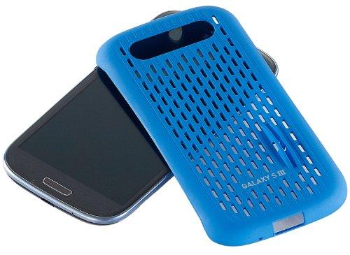 Samsung Cool Vent Case / Schutzhülle für Samsung Galaxy S3 von Anymode - Grün blau