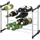 Metaltex 383724039 Cabernet - Botellero para 24 botellas (59 x 26 x 45 cm)