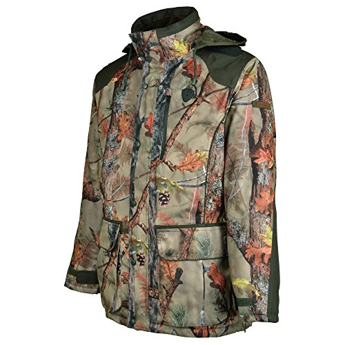Percussion Brocard skintane optimale Wasserdichte Jagd Jacke - Forest Ghost Camo Gr. XL, Wetland Ghost Camouflage