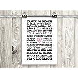 artissimo, Poster mit Spruch, Din A4, PE0041-DR, Tanze im Regen, Bild mit Spruch, Spruchbild, Wandbild, Plakat…