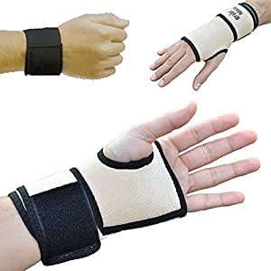 GreatIdeas™ Wrist and Hand Magnetic Braces - DUO PACK