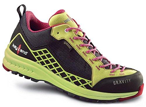 Kayland shoes man outdoor multisport Gravity W'S GTX Black-Lime 018017170 Black-Lime