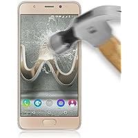 BeCool® - Protettore schermo vetro temperato per Wiko U Feel Prime, protegge e si adatta alla perfezione al tuo Smartphone, Pellicola Protettiva Protezione Protettore Glass Screen Protector, Antigraffio, Durezza 9H