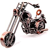 Ubagoo Retro Vintage Metal Motorcycle Model Classic Fashion Motorbike Kit Model for Home Office Decoration Creative Handmade Best Birthday Christmas Gift(Bronze) by Ubagoo