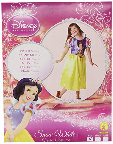 Imagen de rubie`s  disfraz infantil de blancanieves clásico 881239 s
