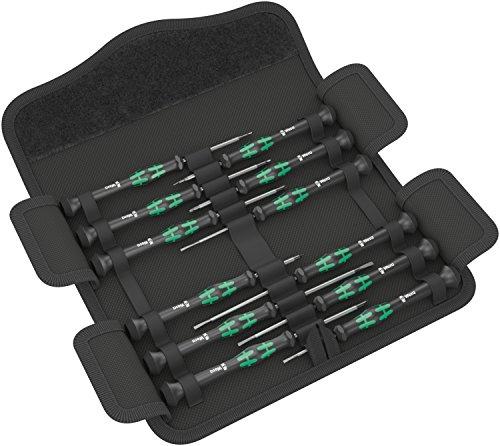 Wera Kraftform Micro Elektroniker Schraubendrehersatz, 12-teilig, 05073675001