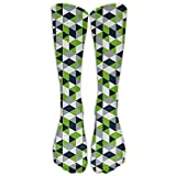 Geometric Seahawk Youth Boys Girls Crew Socks Thin Socks Casual Socks For Daily Life Cosplay,One Size