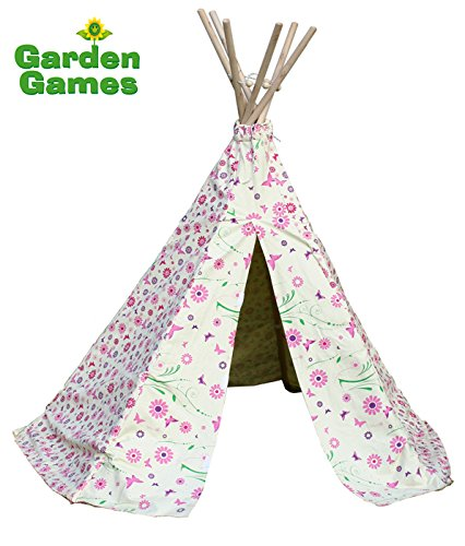 wigwam-play-tent-flowers-butterfly