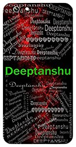 Deeptanshu (Shining Light, Sun) Name & Sign Printed All over customize & Personalized!! Protective back cover for your Smart Phone : Moto X-Play