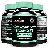 ZMA, la meilleure qualité de Supplément vitaminé minéral avec d'innombrables avantages: Prend en charge la récupération...