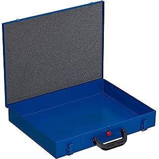 Allit Empty Metal Hardware Box - Blue