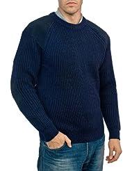 Wool Overs Pull Gentleman-Farmer en pure laine