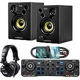 Hercules DJ Starter Kit 2-Deck USB DJ-Controller Set inkl Boxen Kopfhörer +...
