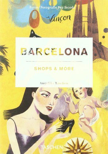 Portada del libro Barcelona shops & more. Ediz. italiana, spagnola e portoghese (Icons)