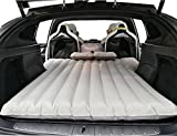 FitTop Topfit Auto aufblasbare Auto Matratze, Camping, Reisen Air Bett, Auto Inflation Bett Air Couch mit 2Air Kissen für TESLA X 6Sitz Modell