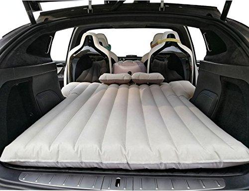 Topfit colchón inflable del coche, cama de aire que viaja que acampa, sofá extendido del aire de la cama de la inflación con 2 almohadas del aire para el asiento modelo X 6