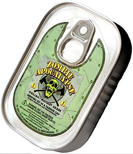 Killer Sardine Unternehmen Zombie-Apokalypse-Survival-Kit in einer Sardinenbüchse (Zombie Kit)