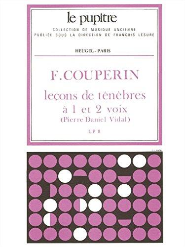 Franois Couperin: Lecons de Tenebres a 1...