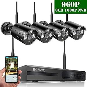 camaras cctv inalambricas: 【2019 Nuevo】Sistema de Cámara CCTV Inalámbrica, Cámara de Seguridad Interiror/Ex...