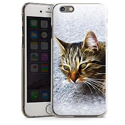 Apple iPhone 4 Housse Étui Silicone Coque Protection Chat Chat Petit chat CasDur transparent