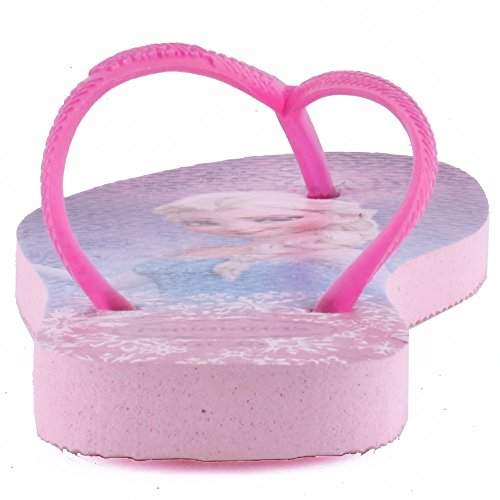 Havaianas Slim congelés synthétique Tongs pour fille Rouge - rose