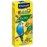 Vitakraft Kräcker Trio Mix für Wellensittiche, Kiwi/Kräuter/Banane (1 x 3 Stück)