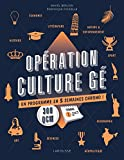 OPERATION CULTURE GE !...