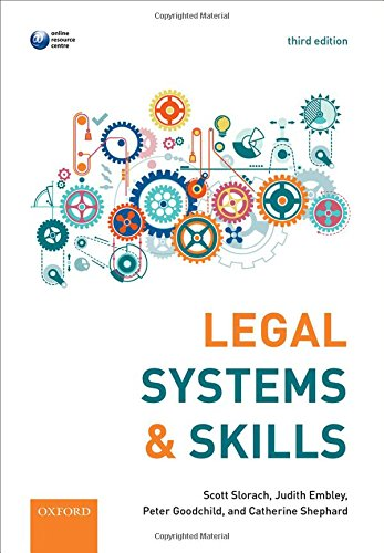 Legal Systems & Skills par Scott Slorach, Judith Embley, Peter Goodchild, Catherine Shephard
