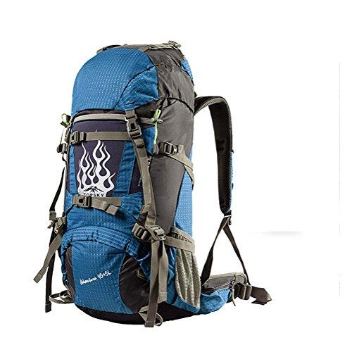 Pacchetto esterno dello zaino di corsa del sacchetto di alpinismo di 40L 50L 60L Blue