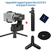 Feiyu Tech WG2 WaterProof Wearable Gimbal for GoPro Hero 6/5 / 4 / Session and Similar Dimensions Action Camera with Tripod stand and Extension pole