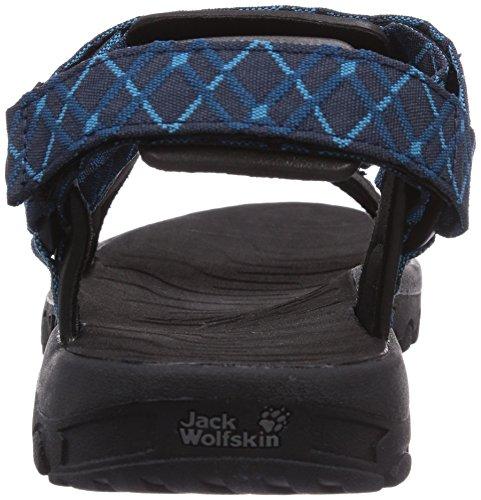 Jack Wolfskin Seven Seas Men, Sandales en plein air homme Blau (moroccan blue 1800)