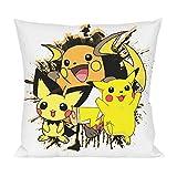 Pikachu Evolution Kissen