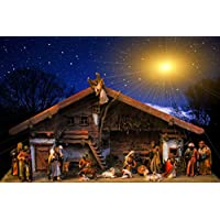 Christmas Birth Nativity Scene Jesus Giant Poster - A5 A4 A3 A2 A1 A0 Sizes preiswert
