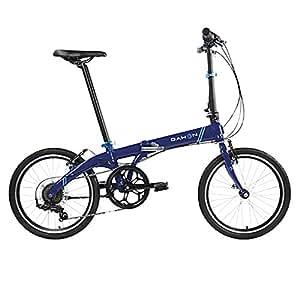 """Dahon Bicicletta pieghevole Vybe D7 20"""" - Blu scuro"""