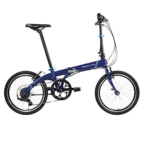 Dahon Faltrad VYBE D7s 7 Gang ND Blau 20 Zoll Klapp Fahrrad Faltrahmen Kettenschaltung Leerlauf, 942058