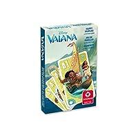 Cartamundi 22501693 - Disney Vaiana Quartett und Aktionsspiel