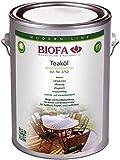 Biofa teaköl, también para muebles de jardín 2,5L