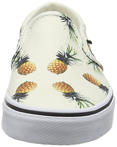 Vans Asher, Baskets Basses femme Blanc Cassé (Pineapple off white)