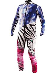 Combinaison De Ski Compétition Junior Energiapura Combi Thermic Tiger Universe/white Tiger