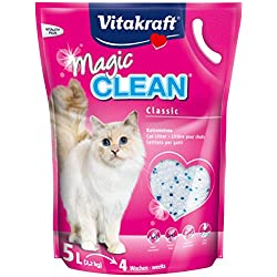 Vitakraft - Litière pour chat Vitakraft Magic Clean Contenances : 5 l