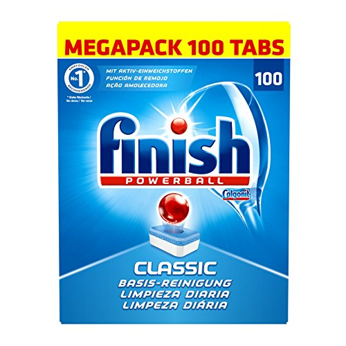 Finish Classic, Spülmaschinentabs, Megapack, 100 Tabs