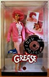 Barbie - 30 Years Anniversary GREASE - FRENCHY - Collector Edition - mit COA / Certificate of Authenticity & Musical Doll-Stand - rosa Kleid mit rosa Jacke - OVP