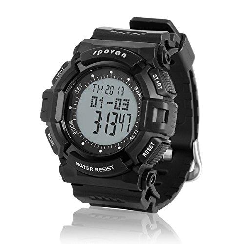 MaMaison007 SPOVAN multifunzionale Sport Trekking orologi altimetro orologio sportivo -